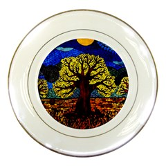 Tree Of Life Porcelain Plates