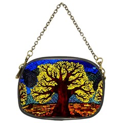 Tree Of Life Chain Purses (two Sides)
