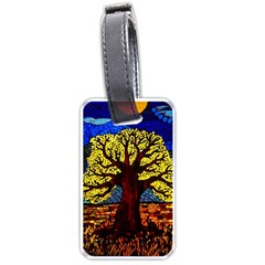 Tree Of Life Luggage Tags (two Sides)