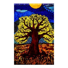 Tree Of Life Shower Curtain 48  X 72  (small)