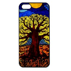 Tree Of Life Apple Iphone 5 Seamless Case (black)