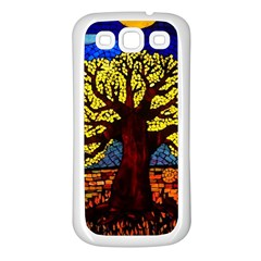 Tree Of Life Samsung Galaxy S3 Back Case (white)