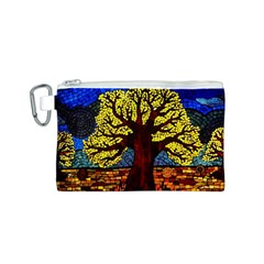 Tree Of Life Canvas Cosmetic Bag (s)