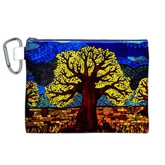 Tree Of Life Canvas Cosmetic Bag (xl)
