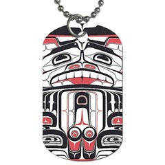 Ethnic Traditional Art Dog Tag (one Side)