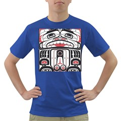 Ethnic Traditional Art Dark T Shirt