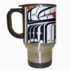 Ethnic Traditional Art Travel Mugs (white)