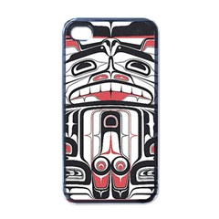 Ethnic Traditional Art Apple Iphone 4 Case (black)