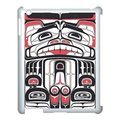 Ethnic Traditional Art Apple Ipad 3/4 Case (white)