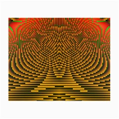Fractal Pattern Small Glasses Cloth