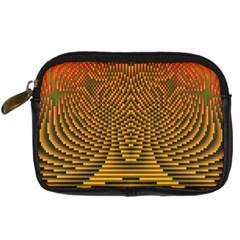 Fractal Pattern Digital Camera Cases