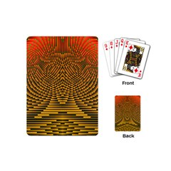 Fractal Pattern Playing Cards (mini)