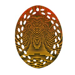Fractal Pattern Ornament (oval Filigree)
