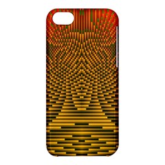 Fractal Pattern Apple Iphone 5c Hardshell Case