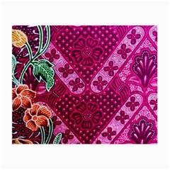 Pink Batik Cloth Fabric Small Glasses Cloth