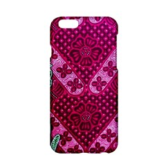 Pink Batik Cloth Fabric Apple Iphone 6/6s Hardshell Case