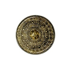 Gold Roman Shield Costume Hat Clip Ball Marker (10 Pack)