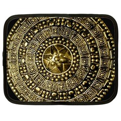 Gold Roman Shield Costume Netbook Case (large)