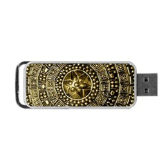 Gold Roman Shield Costume Portable Usb Flash (one Side)