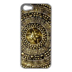 Gold Roman Shield Costume Apple Iphone 5 Case (silver)