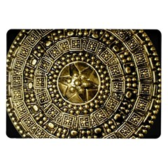 Gold Roman Shield Costume Samsung Galaxy Tab 10 1  P7500 Flip Case