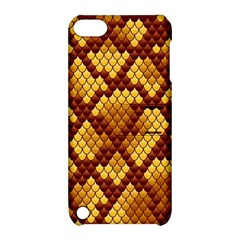 Snake Skin Pattern Vector Apple Ipod Touch 5 Hardshell Case With Stand