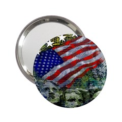 Usa United States Of America Images Independence Day 2 25  Handbag Mirrors