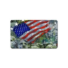 Usa United States Of America Images Independence Day Magnet (name Card)