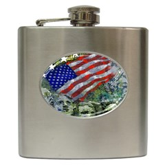 Usa United States Of America Images Independence Day Hip Flask (6 Oz)