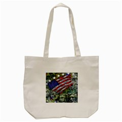 Usa United States Of America Images Independence Day Tote Bag (cream)