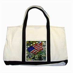 Usa United States Of America Images Independence Day Two Tone Tote Bag