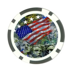 Usa United States Of America Images Independence Day Poker Chip Card Guard