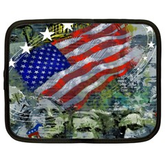 Usa United States Of America Images Independence Day Netbook Case (xl)