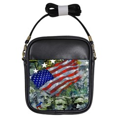 Usa United States Of America Images Independence Day Girls Sling Bags
