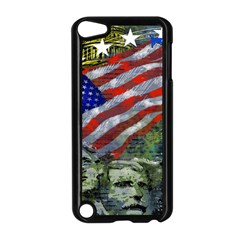 Usa United States Of America Images Independence Day Apple Ipod Touch 5 Case (black)