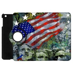 Usa United States Of America Images Independence Day Apple Ipad Mini Flip 360 Case