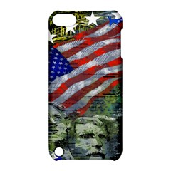 Usa United States Of America Images Independence Day Apple Ipod Touch 5 Hardshell Case With Stand