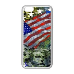 Usa United States Of America Images Independence Day Apple Iphone 5c Seamless Case (white)
