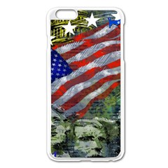 Usa United States Of America Images Independence Day Apple Iphone 6 Plus/6s Plus Enamel White Case