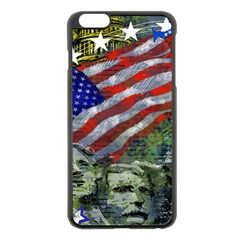 Usa United States Of America Images Independence Day Apple Iphone 6 Plus/6s Plus Black Enamel Case