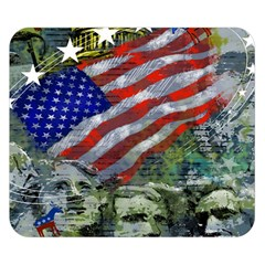 Usa United States Of America Images Independence Day Double Sided Flano Blanket (small)