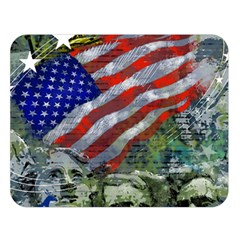 Usa United States Of America Images Independence Day Double Sided Flano Blanket (large)