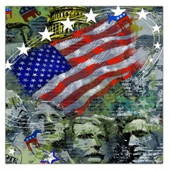 Usa United States Of America Images Independence Day Large Satin Scarf (square)