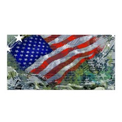 Usa United States Of America Images Independence Day Satin Wrap