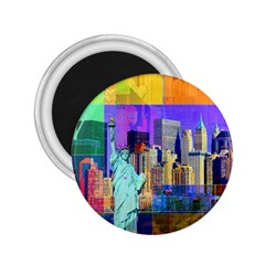 New York City The Statue Of Liberty 2 25  Magnets