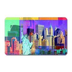 New York City The Statue Of Liberty Magnet (rectangular)