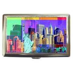 New York City The Statue Of Liberty Cigarette Money Cases