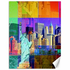 New York City The Statue Of Liberty Canvas 12  X 16