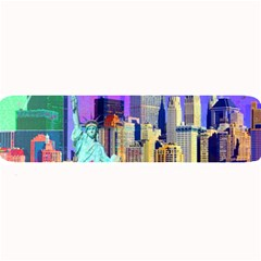 New York City The Statue Of Liberty Large Bar Mats