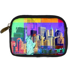 New York City The Statue Of Liberty Digital Camera Cases